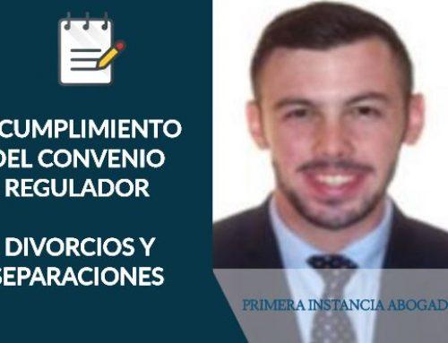 INCUMPLIMIENTO DEL CONVENIO REGULADOR